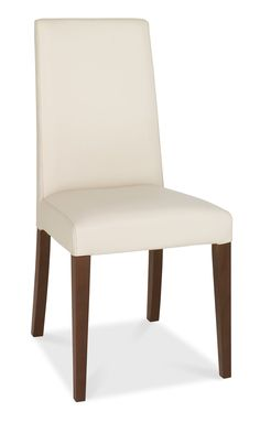 Akita Walnut Tapered Back Ivory Faux Leather A sleek and streamlined range, Akita Walnut evokes a Japanese feel,combining luxurious walnut with elegant and unique designs. With concealed, felt inlay drawers and contemporary lines, this range epi http://www.MightGet.com/january-2017-13/unbranded-akita-walnut-tapered-back-ivory-faux-leather.asp