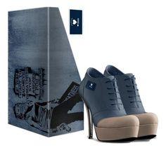 ❤ Glam Blue Ankle Boot by Glam Collection. Ankle boot modello Derby con plateu, Cosa puoi desiderare di più sorprendente di 12 cm di tacchi alti con comoda calzata da poter essere indossati tutto il giorno? Le linee delicate ed eleganti del puntale merlettato conferiscono a questi stivaletti un tocco formale e classico di cui una donna ha bisogno nella sua vita quotidiana. http://www.glamtalks.com/product-page/ec07b5df-fecb-a5cc-d375-a59709672bbe