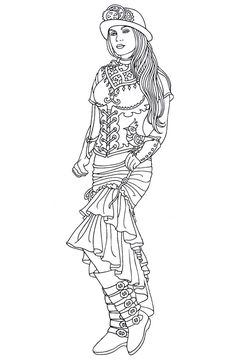 cool medium difficulty coloring pages - photo#43