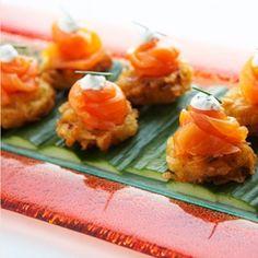 Potato Latkes #recipe, a great holiday staple and entertaining appetizer.