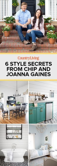 The stars of HGTV Fixer Upper, Chip and Joanna Gaines, invite us into their latest project—Magnolia House, a Texas farmhouse where you can bunk up! Chip and Joanna Gaines from HGTV's 'Fixer Upper' invite us into their popular bed-and-breakfast. Fixer Upper Hgtv, Gaines Fixer Upper, Fixer Upper Joanna, Magnolia Fixer Upper, Magnolia Farms, Magnolia Market, Magnolia Homes, Texas Farmhouse, Farmhouse Style