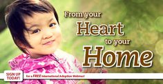 """Holt International, an international adoption agency that aks people to support kids while finding them a """"forever home"""" and telling them of Jesus' love."""