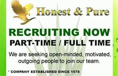 Forever Living Products Recruiting Now