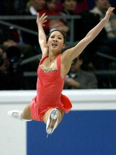 Michelle Kwan - beautiful leap