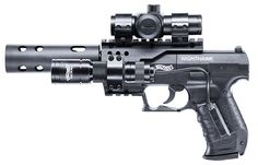 Walther NightHawk, 400 fps, 122 m/s, double action, 8 rounds rotary magazine, .4,5 mm (.177) CO2 Air Gun