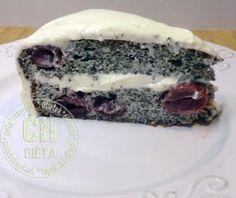 Diabetikus meggyes- mákos torta | CH Diéta