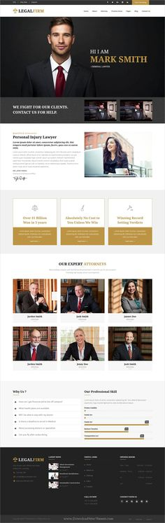 LegalFirm is a wonderful 7in1 responsive #Drupal theme for lawyers, #attorneys, #judges, law firms or legal office websites download now➩ https://themeforest.net/item/legalfirm-insurance-and-lawyer-business-drupal-8-theme/19342711?ref=Datasata