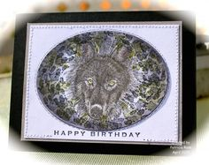 CAS319, TLC528, Wolf birthday Wishes by kokirose - Cards and Paper Crafts at Splitcoaststampers