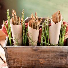 Eating my green veggies on #mossmountainfarm #asparagus #vegetables #garden #bonnieplants #delicous