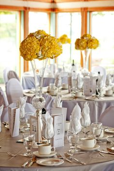 54 best Grey & Yellow Wedding images on Pinterest | Wedding, Yellow ...
