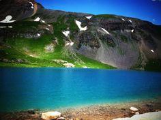 Ice Lake near Telluride, Colorado
