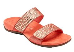 cb64813cce2f online shopping for Vionic Womens Rest Samoa Slide Sandal Coral Size 8 Wide  from top store. See new offer for Vionic Womens Rest Samoa Slide Sandal  Coral ...