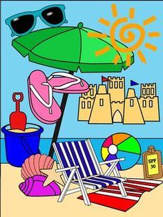 beach clip art