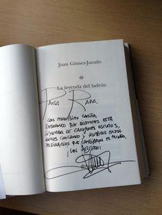 @rafolas       La dedicatoria de Rafa Castillo