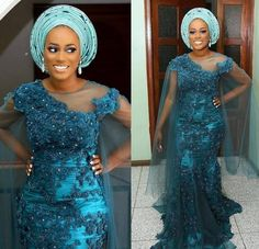South African Plus Size Prom Dresses With Sheer Neck Appliques Beads Aso Ebi Mermaid Evening Gowns African Formal Party Dress Women Wear African Evening Dresses, African Lace Dresses, African Fashion Dresses, Ankara Fashion, Nigerian Lace Styles Dress, Lace Dress Styles, African Outfits, African Clothes, Dress Plus Size