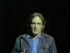"Dennis Hopper reads a poem on The Johnny Cash Show From ""The Johnny Cash Show,"" September 30, 1970. As Mr. Hopper points out prior to his impassioned recitation, ""if"" is the middle word in life."