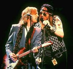 Tom Petty and Axl