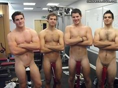 College Straightys Soaping Up Jock In Public
