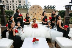An Elegant Black Tie Wedding in Atlanta - Munaluchi Bridal Magazine
