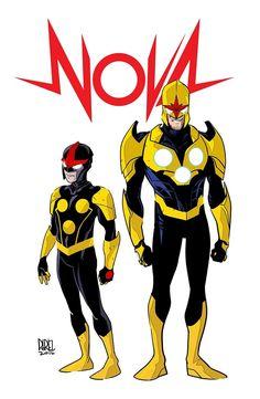 Marvel Unleashes First Richard Rider Nova Art Marvel 616, Marvel Comics, Marvel Avengers, Captain Marvel, Marvel Comic Character, Marvel Characters, Marvel Universe, Power Rangers, Superhero Art Projects