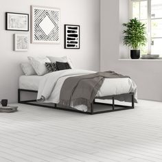 Shop a great selection of Cyril Bed Frame Zipcode Design. Find new offer and Similar products for Cyril Bed Frame Zipcode Design. Trundle Mattress, Mattress Frame, Mattress Springs, Full Daybed With Trundle, Twin Daybed With Storage, Simple Bed Frame, Full Bed Frame, Bed Slats, Room Ideas Bedroom