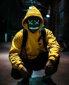 Purge Mask - Halloween Mask - LED Light Up Mask - Perfect for Parties and Raves and photoshoots Character Inspiration, Character Design, Purge Mask, Dope Art, Shadowrun, Mad Max, Picsart, Concept Art, Cool Stuff