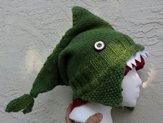 Ravelry: rmyers' Shark Hat with Laser Beams