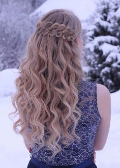 Beautiful waterfall braids is the best way to get attractive hair look for every age group of women. That's way we've described here some awesome ideas of long braids for women to show off in 2018. See here and save best collection of braids for 2018.