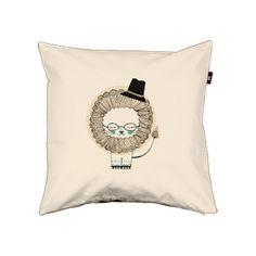 Pillow cover. Prof. Leo Pfauenhaar - Details - Envelop