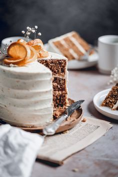 This delicious Carrot Cake is the perfect choice for special occasions or just because it's Sunday! Packed full of carrots, cinnamon and walnuts, it's paired with tangy Orange Cream Cheese frosting and will quickly become your favourite! Food Cakes, Cupcake Cakes, Cupcakes, Baking Recipes, Cake Recipes, Dessert Recipes, Easter Recipes, Kid Desserts, Delicious Desserts