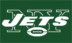 New York Jets Afghan Chart Pdf by AngelscrochetedGifts on Etsy