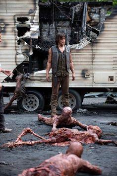 "The Walking Dead 5x07 ""Crossed ""Daryl Dixon"