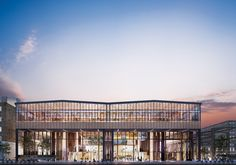CIVIC Architects - Railway Hangar into a Mixed-Use Library