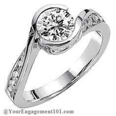 Wedding Rings and Bands (I wouldn't want as many diamonds haha)