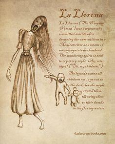 Dark Corner Bestiary - La Llorona