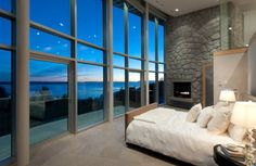 Bedroom with a great view!