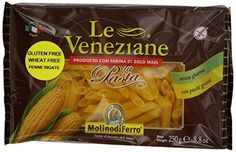 Le Veneziane Gluten Free Penne 250g (Pack of 4) - Brought to you by Avarsha.com