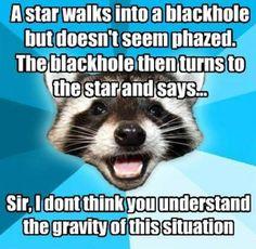 Space humor.    Courtesy IFLS.
