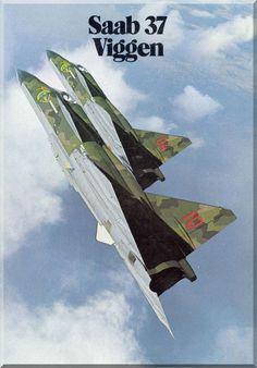 SAAB 37 Viggen Aircraft Technical Brochure Manual - - Aircraft Reports - Manuals Aircraft Helicopter Engines Propellers Blueprints Publications