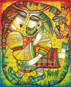 At Last I Found You by Albena Vatcheva #painting #art #artwit #followart
