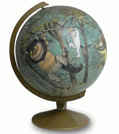 globes & where the wild things are