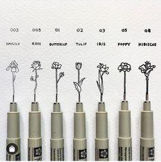 Ink art by Bryan Schiavone. Bryan Schiavone is a pen and ink art artist. Continue Reading and for more Ink art → View Website Gcse Art Sketchbook, Sketchbook Cover, Sketching, Sketchbook Ideas, Pen Sketch, Art Sketches, Sakura Pens, Pigma Micron, Flower Doodles