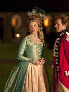 Natalie Dormer as Seymour, Lady Worsley in The Scandalous Lady W (2015). [x]