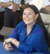 Diana Gabaldon is an American author of historical fiction with heavy romance and slight fantasy elements. She is best known for her Outlander series, which has been turned into a TV show.