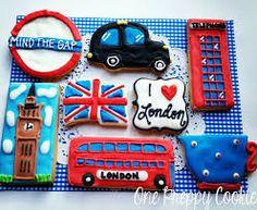 london bus cookie - Google 搜索