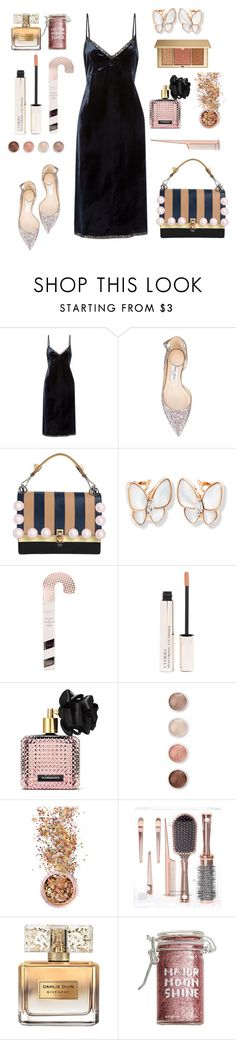 """Shine in new years party .."" by gul07 ❤ liked on Polyvore featuring Prada, Jimmy Choo, Fendi, By Terry, Victoria's Secret, Terre Mère, In Your Dreams, Givenchy, Major Moonshine and Estée Lauder"