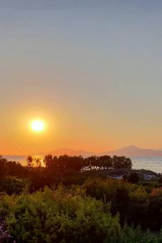 #sunsets surrounded by green and blue  #kos #greece #caraviabeach 📷wauzzz__ Kos, Sunsets, Greece, Celestial, Beach, Blue, Outdoor, Outdoors, The Beach
