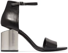 Alexander Wang - Abby Leather Sandals - Black (affiliate)
