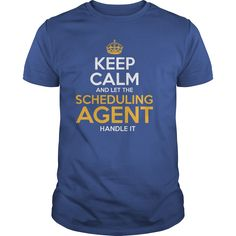 Awesome Tee For Scheduling Agent T-Shirts, Hoodies. Get It Now ==► https://www.sunfrog.com/LifeStyle/Awesome-Tee-For-Scheduling-Agent-129922321-Royal-Blue-Guys.html?id=41382