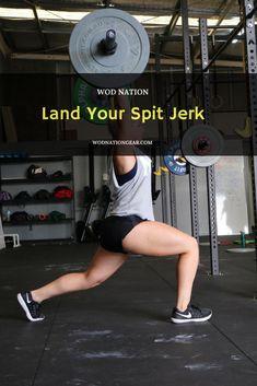 Land Your Split Jerk #crossfit